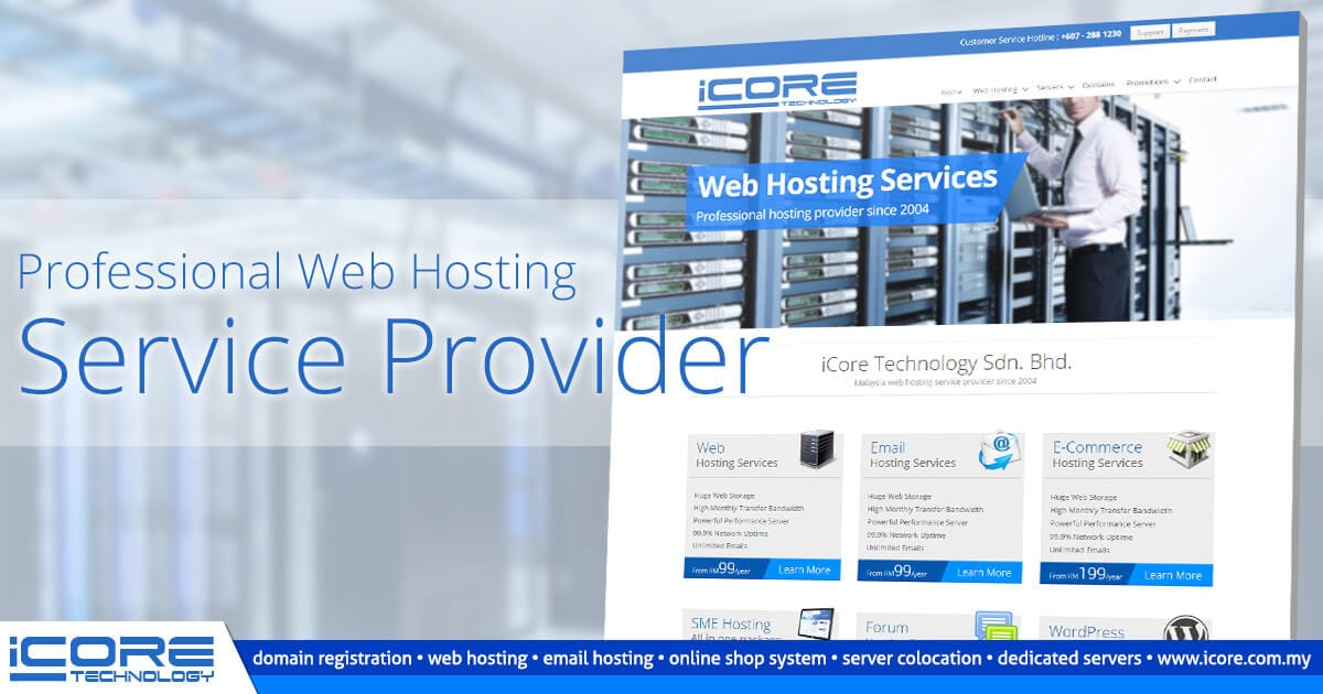 iCore Technology Sdn. Bhd. - Malaysia Web Hosting Service Provider